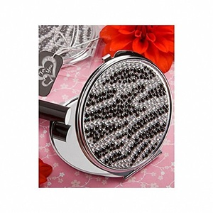 Pack of 6 Zebra Design Compact Mirror Favours by Mirror Favours