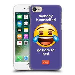 Official Emoji Monday Is Cancelled Speak Hard Back Case for Apple iPhone 7