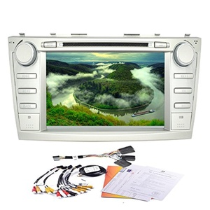 Hot Seller! Eincar 8 Inch Car DVD Player Built-in GPS Navigation bluetooth support WIFI Mirror Link Android 4.4 Quad Core Car Stereo Special for Toyota Camry (2006-2011)