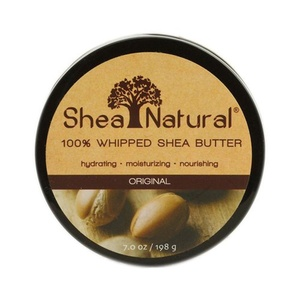 Shea Natural Whipped Shea Butter Original Fragrance Free - 7 oz , Shea Natural , Body Butters, Bathroom
