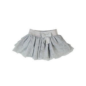 Boboli Grey Tulle Skirt