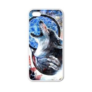 super shining day Wolf Dream Catcher Special Apple iPhone 5C TPU Material Durable Back Case