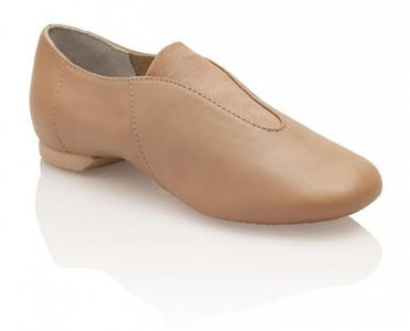 cp05 tan us 7.5 uk 5 leather show stopper jazz adult slip on car by Capezio