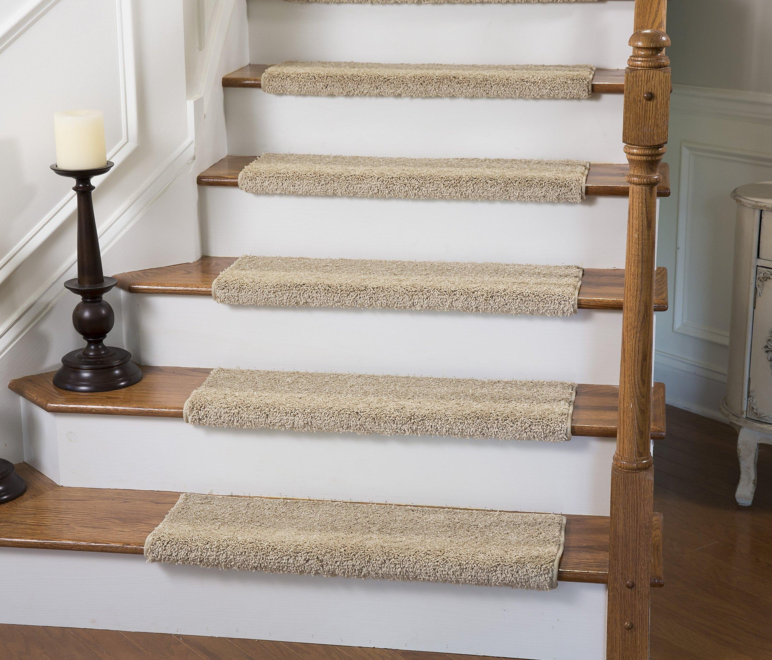 Online Store Caprice Bullnose Carpet Stair Tread With