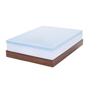 Wakrays 3-inch Gel Memory Foam Mattress Topper (Twin)