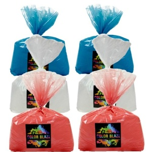 Color Powder Patriotic 30lbs of Color - Six 5 lb bags