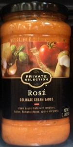 Private Selection Rose Delicate Cream Sauce 16.9 Oz (Pack of 2)