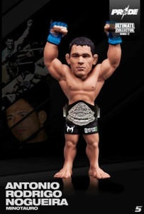 1 X Round 5 UFC Series 12.5 Limited Edition Action Figure - Antonio Nogueira - Pride by Round 5 MMA