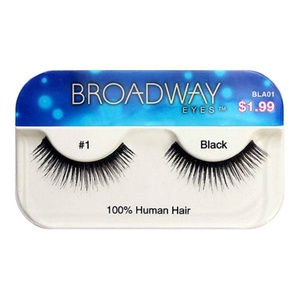 Broadway Eyes By Kiss Lashes Black #1 (Pack of 3)