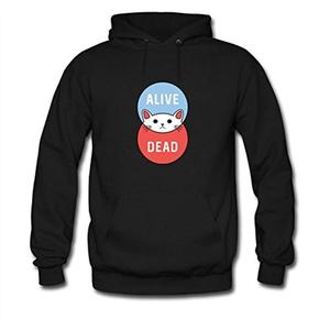 Schrodinger's Cat For women Printed Sweatshirt Pullover Hoody