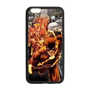 The Flash, Personalized Protective Back Cover Case TPU for iphone 7 plus (5.5 inch)
