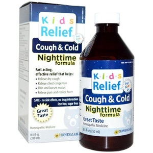 Kids Relief Homeolab Cough and Cold Night, 8.5 Fluid Ounce by Kids Relief