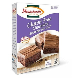 Manischewitz Gluten Free Chocolate Brownie Mix ,12 oz box by Manischewitz