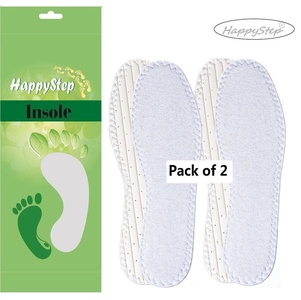HappyStep® 2 Pairs Terry Insoles The Best Barefoot Insoles