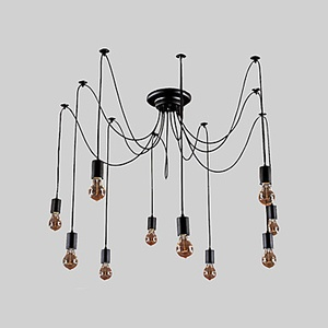 10 Bulbs Set of Chandelier LED Vintage Lights