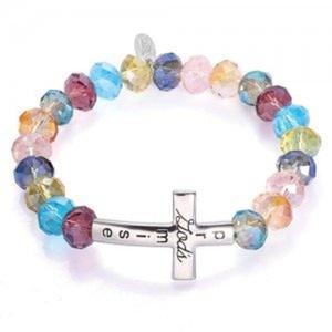 Alexa's Angels Bracelets 22306 Gods Promise Bracelet - Rhodium