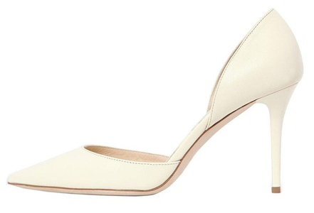 Maovii Women's High Heel Big Size Court Shoes Pointed Closed Toe Pump for Wedding Party Dress Size 5-15