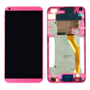 Red LCD Display+Touch Screen Digitizer Assembly+Frame HTC Desire 816 D816
