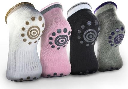 Best Non Slip Skid Yoga Pilates Socks with Grips Cotton for Women