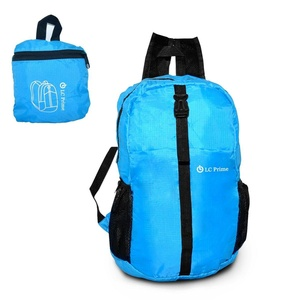 Travel Backpack Outdoor Ultra Lightweight Foldable Durable Daypack Rucksack Hiking Backpack Handy Knapsack for Men and Women Cycling Camping School nylon blue, by LC Prime