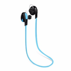 Bluetooth Wireless Handfree Headset Stereo Headphone Earphone Sport Universal (Blue)