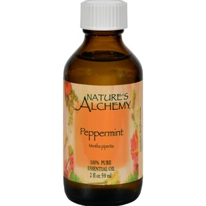 2Pack! Nature's Alchemy 100% Pure Essential Oil Peppermint - 2 fl oz