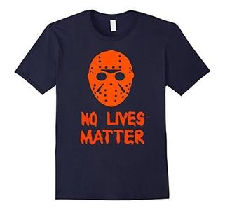 Men's No Lives Matter T-Shirt XL Navy