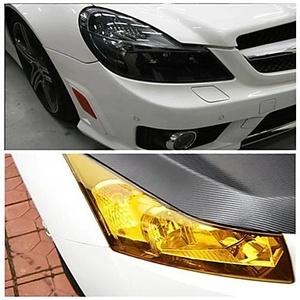 Translucent Heterochrosis Car Rear Light Membrane 60cm*30cm
