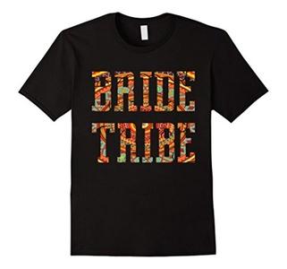 Men's Bride Tribe T-Shirt - Bridesmaid Bridal Party Shirt Small Black