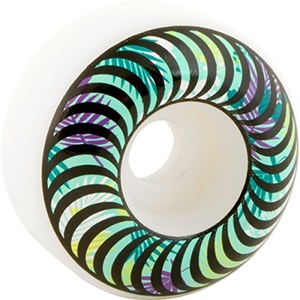 Spitfire Wheels Classic Floral Fill Skateboard Wheels - 54mm 99a (Set of 4)