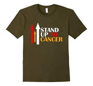 Men's Stand up to cancer t shirt XL Olive