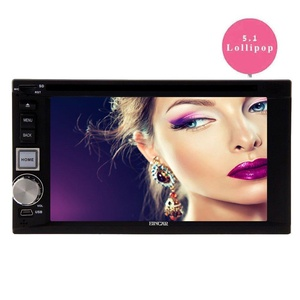 EinCar Android 5.1.1 6.2 Inch Car Stereo with Quad Core Double Din Touch Screen Car DVD Player In Dash GPS Navigation Head Unit AM RM Radio Multimedia Receiver Support WiFi/1080P/Airplay