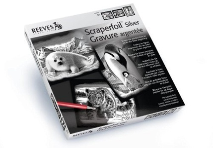 Reeves Scraperfoil Silver Gift Set 1 by Reeves