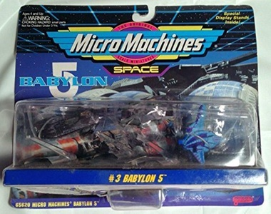 Micro Machines Babylon 5 Collection #3 by Galoob Micromachines