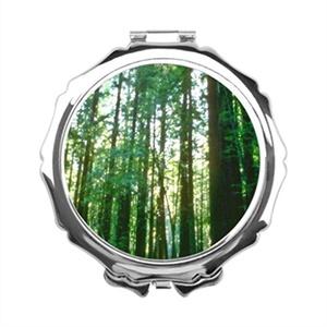 GoingOn Floor Makeup Mirror Nature Hand Held Mirror