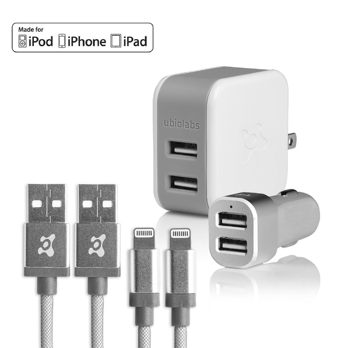 Online Store Ubio Labs Mfi Certified Lightning Cable Kit