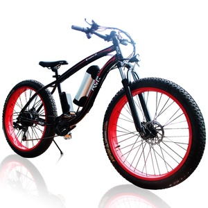 RCP - Eroader26 - 26 Inch Fat Tire Hybrid E-Bike for Men and Women- Mountain Dirt Bike with 36V 10AH 350W Heavy Duty Battery, with Bicycle Phone Mount USB Charger and Shimano 7 Speed LCD Meter
