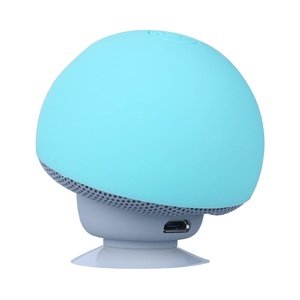 ICENN Mini Mushroom Cute Style Portable Bluetooth V3.0 Wireless Stereo Speaker Hands Free Speakerphone with Built-in Mic For iPhone/iPad/Samsung/HTC/LG/SONY Android cellphone Green