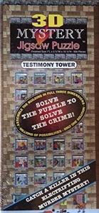 3D Mystery Jigsaw Puzzle Testimony Tower - 504 Pieces by 3D
