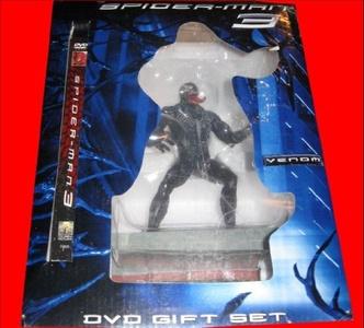 EXCLUSIVE 10 VENOM FIGURE - SPIDERMAN 3 Limited Edition DVD GIFT SET [Toy] by Spiderman 3 DVD Gift Set