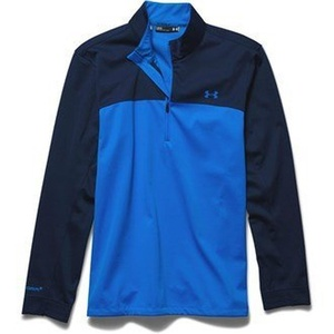 Under Armour Mens Elements Half Zip Jacket (Blue Multi) in X Large Blue Multi by Elemental 1/2 Zip
