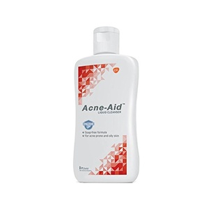 Acne-Aid Liquid Cleanser Oily Skin 100Ml Colour | White Red Volume | 100 Ml -Soap-free formula Cleanser - For Acne Prone and oily skin -Restores skin's moisture barrier