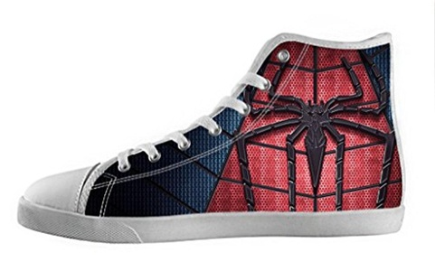 Movie Spider-Man Women's High Top Canvas Shoes-6M(US)