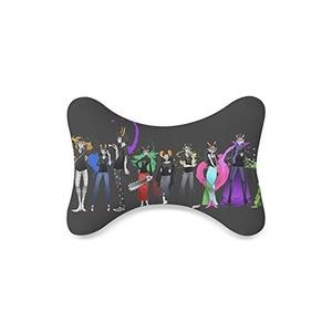 homestuck Custom Travel Pillow Bone Shape Car Neck Pillow Car Seat Neck Rest Cushion Sofe And Healthy