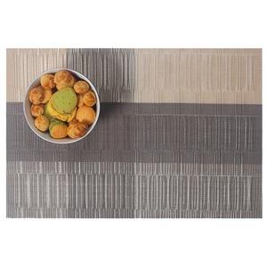Lerela Set Of 4 Kitchen Table PVC Placemat Woven Vinyl Heat-Resistant Table Mat