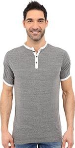 Agave Denim Men's Flemming Henley Short Sleeve Cloud Dancer T-Shirt 2XL