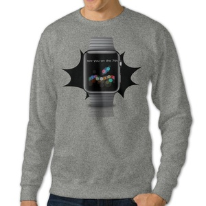 NUBIA Men's See You On The 7th Long Sleeve Sweatshirt Ash M