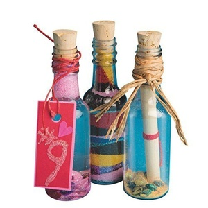 S&S Worldwide Plastic Sand Art Bottles with Cork (Pack of 24) by S&S