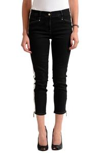 Versace Jeans Grey Cropped Women's Slim Fit Jeans US 5 IT 41;