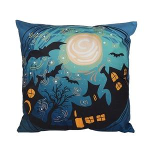 Iuhan® Fashion Halloween Pillow Case Sofa Waist Throw Cushion Cover Home Decor (B)